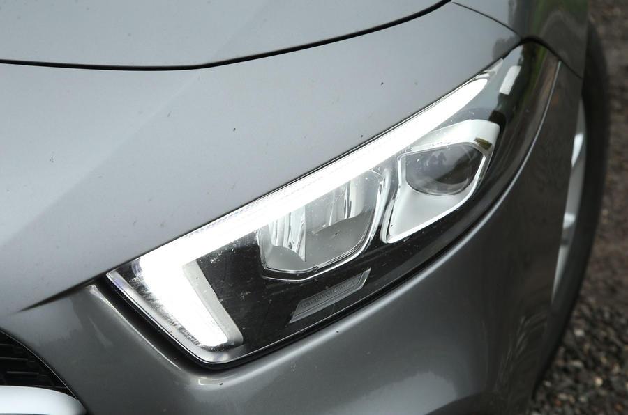 Mercedes-Benz A-Class 2018 long-term review - headlights