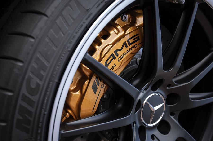 Mercedes-AMG C63 2018 first drive review alloy wheels