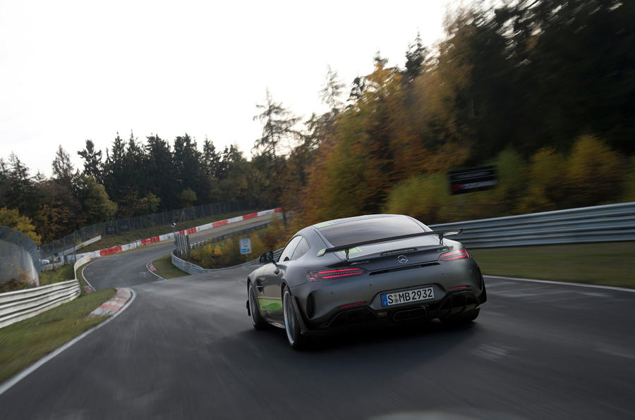 Mercedes-AMG GT R Pro 2019 first drive review - hero rear