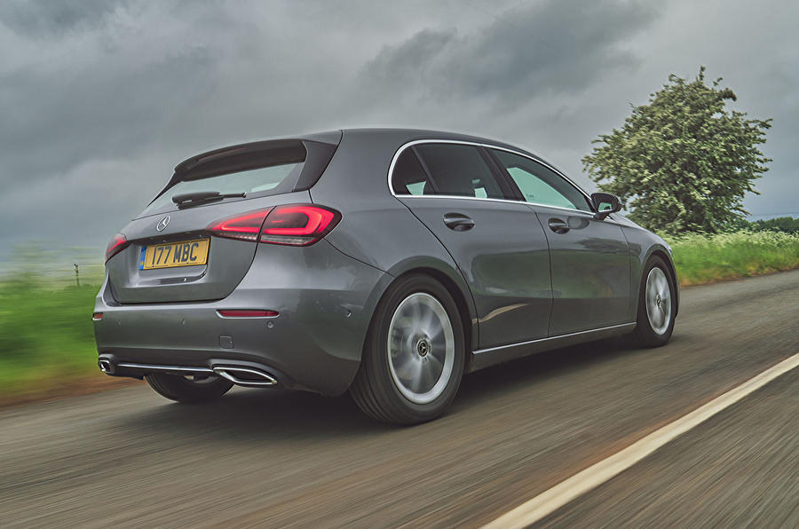 Mercedes-Benz A-Class A180 SE 2019 first drive review - hero rear