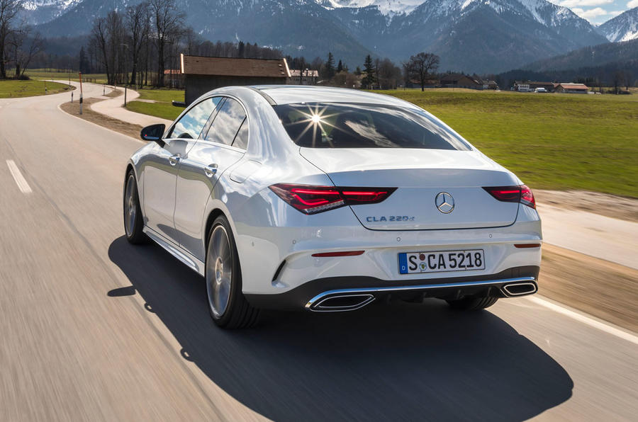 Mercedes-Benz CLA 2019 first drive review - hero rear