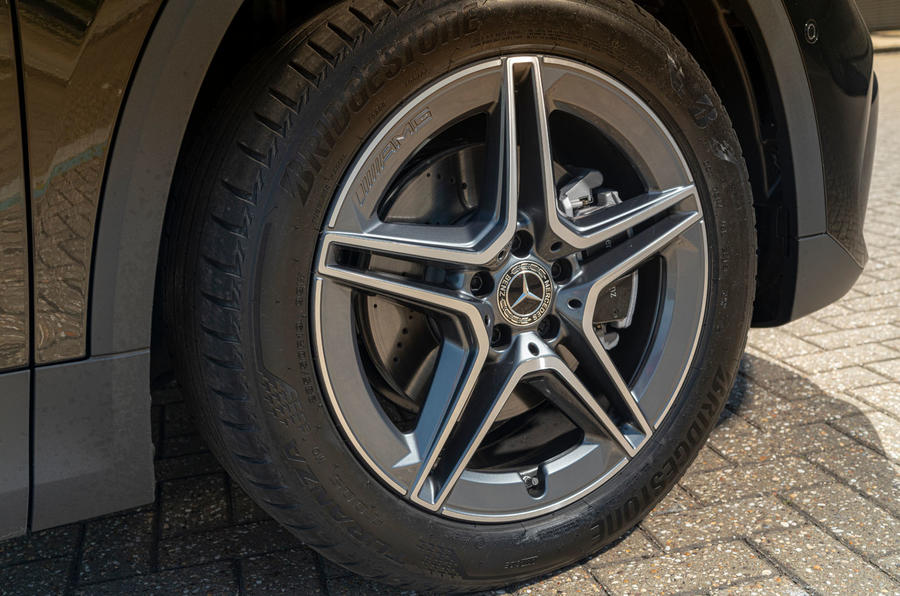 Mercedes-Benz GLA 220d 2020 UK first drive review - alloy wheels