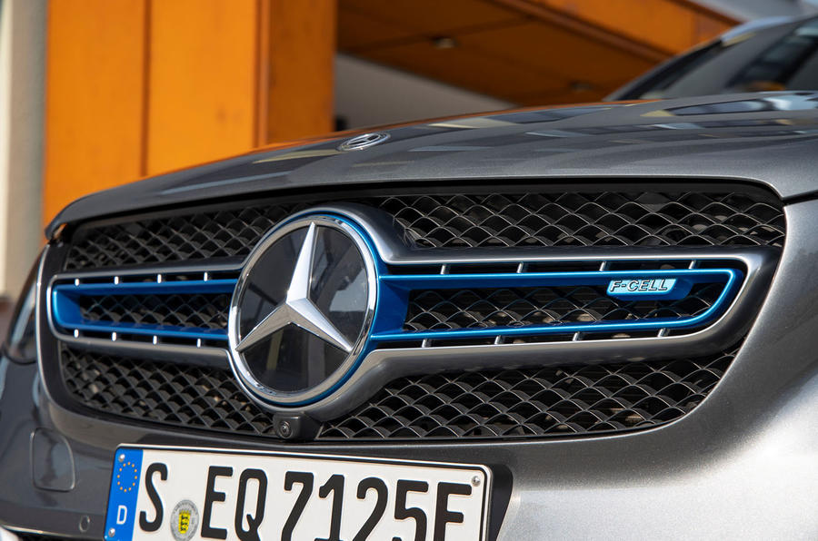 Mercedes-Benz GLC F-Cell 2019 first drive review - front grille