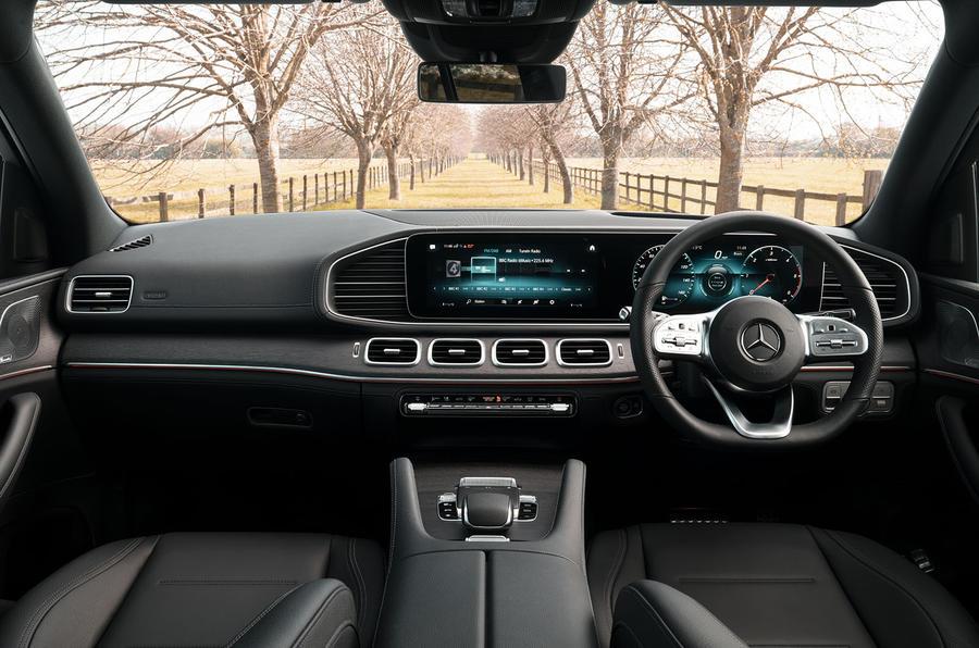 Mercedes-Benz GLE 350de 2020 first drive review - cabin