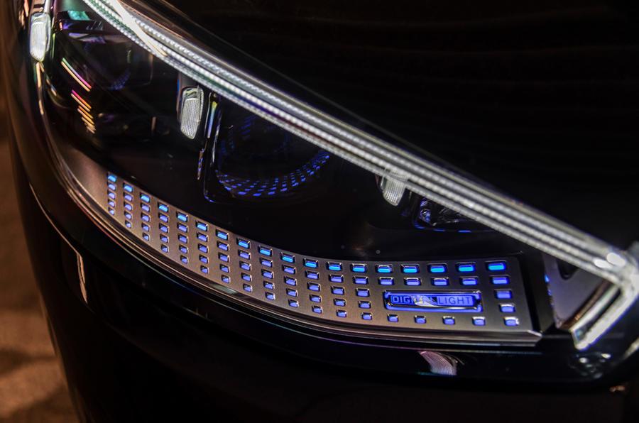 Mercedes-Benz S-Class S500 2020 first drive review - headlights