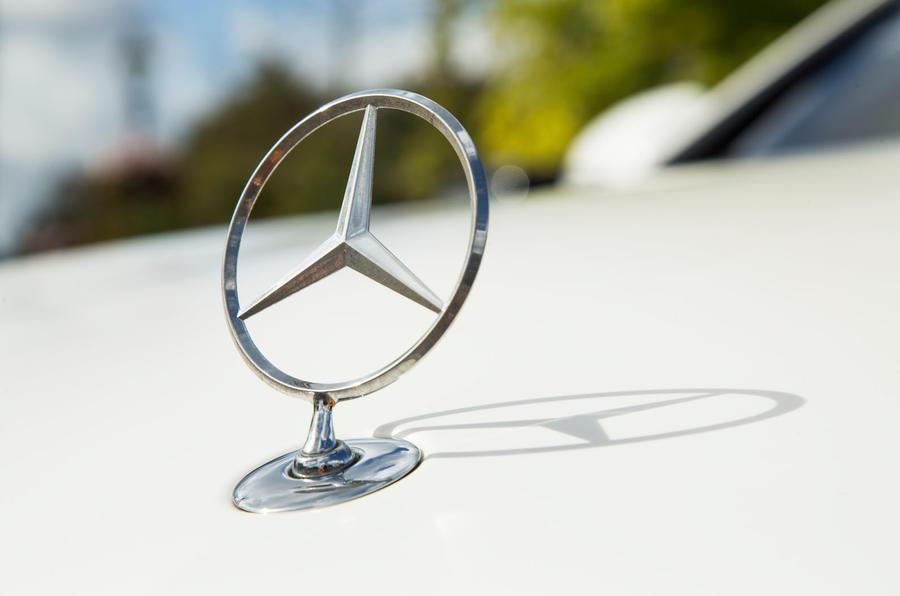 Mercedes-Benz S-Class S500L 2018 long-term review - star emblem