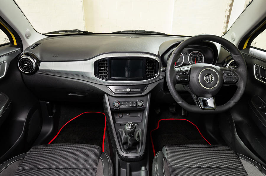 MG 3 Exclusive 2018 review interior
