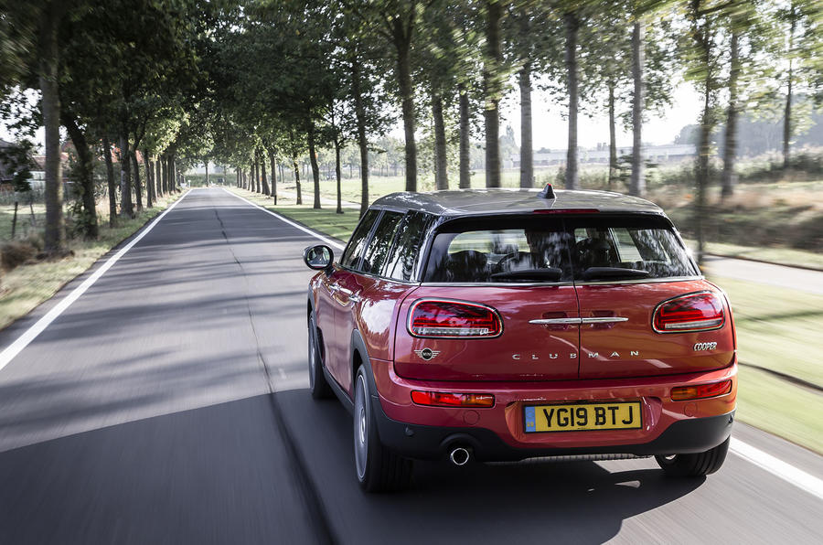 Mini Clubman Cooper 2019 first drive review - hero rear
