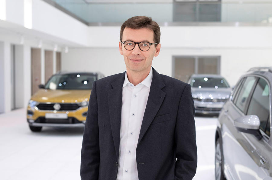 Frank Welsch at VW headquarters