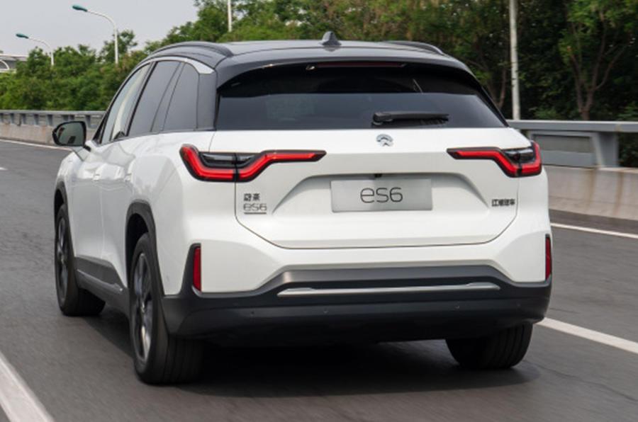 Nio ES6 2019 first drive review - hero rear