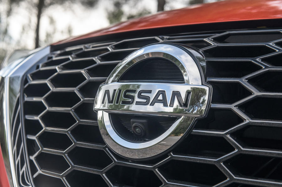 Nissan Juke 2019 first drive review - bonnet badge