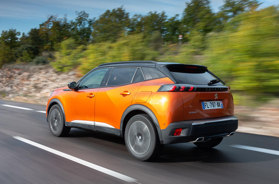 Peugeot 2008 2020 first drive review - hero rear