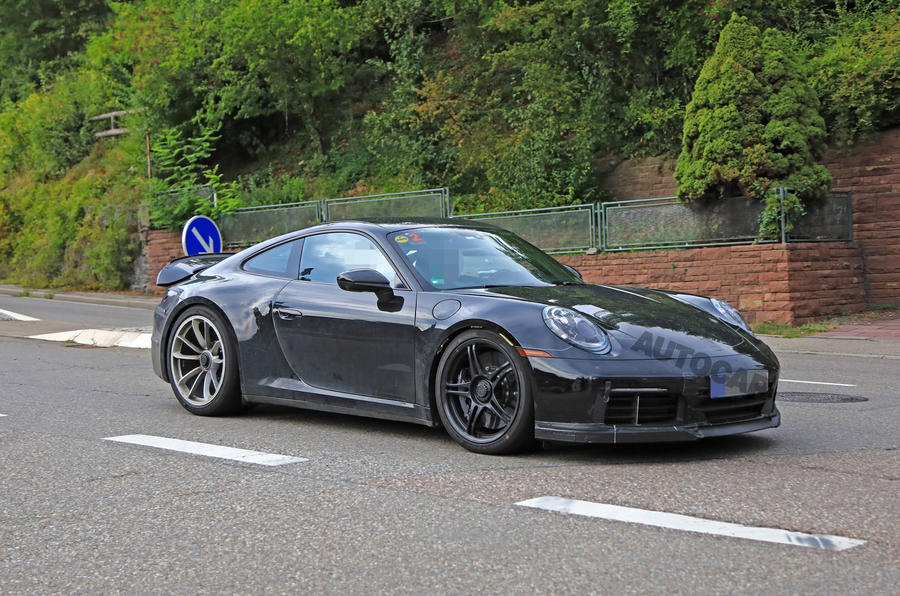 2020 Porsche 911 GT3 speckled contrast front right