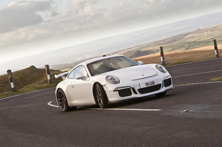 Porsche 911 GT3 - hero fornt