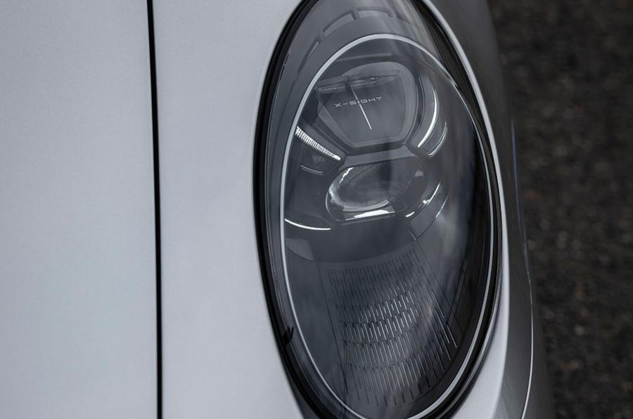 Porsche 911 Turbo S 2020 first drive review - headlights