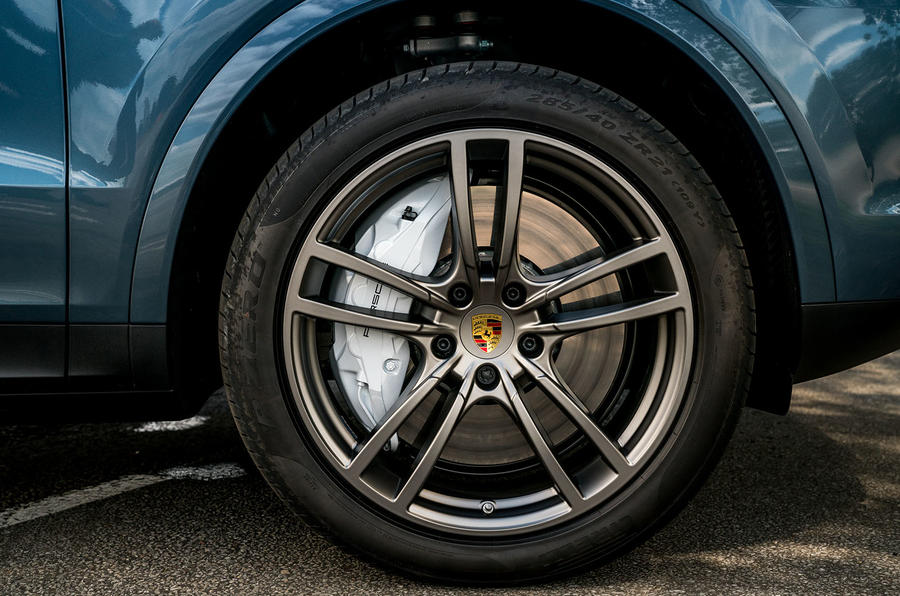 Porsche Cayenne 2018 UK first drive review alloy wheels