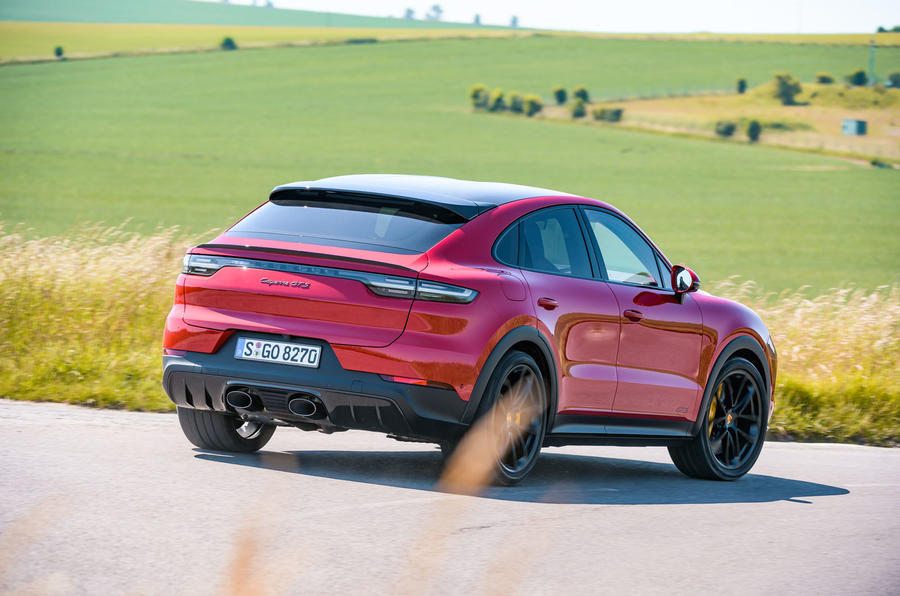 Porsche Cayenne GTS 2020 UK first drive review - hero rear