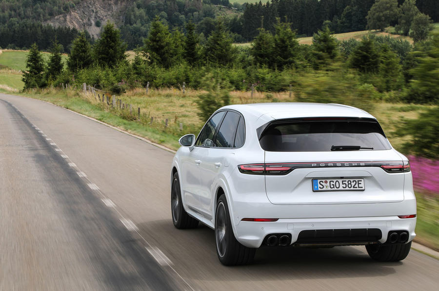 Porsche Cayenne Coupe goes green with new E-Hybrid models