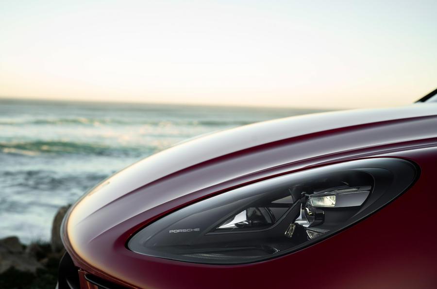 Porsche Macan GTS 2020 first drive review - headlights