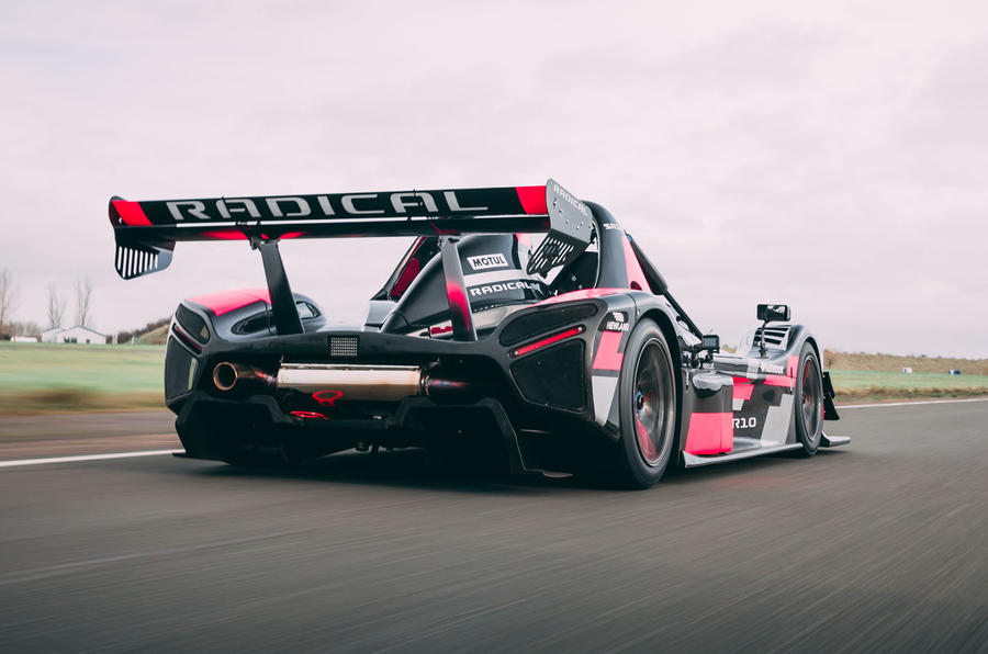 Radical SR10 2020 UK first drive review - hero rear