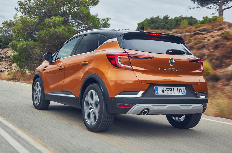Renault Captur 2019 first drive review - hero rear