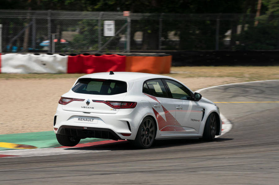 Renault Megane Trophy R 2019 first drive review - hero rear