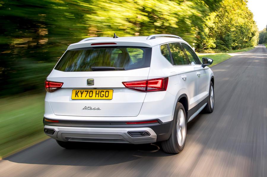 Siège Ateca Xperience 2020 : premier bilan de conduite au Royaume-Uni - hero rear