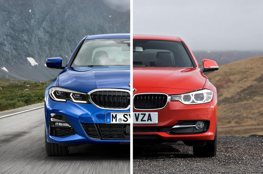 Old Vs New Bmw 3 Series Compare The Styling Changes Autocar