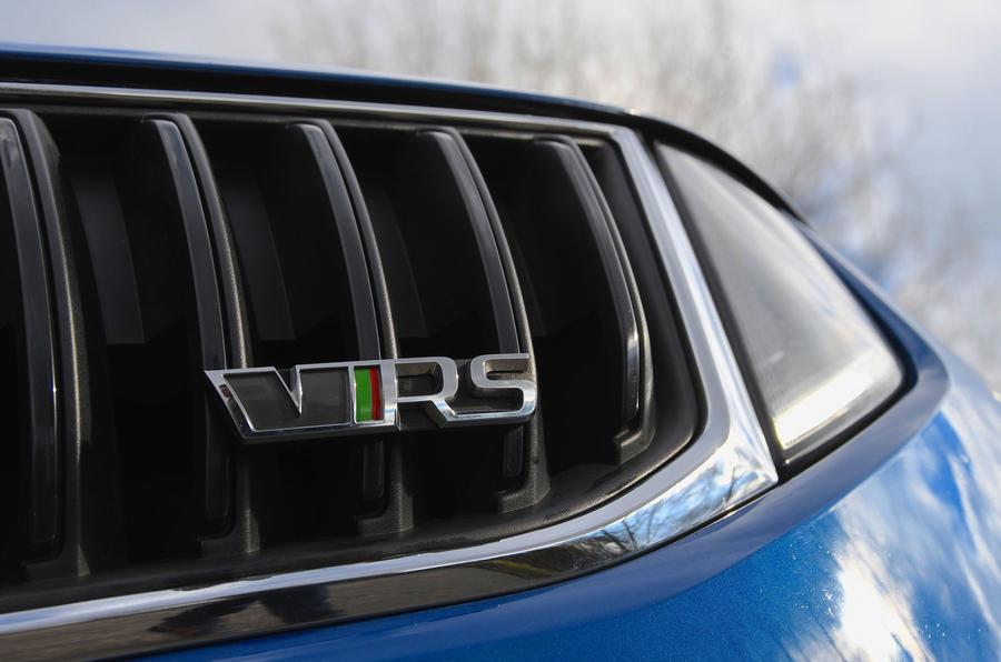 Skoda Octavia vRS diesel longterm review bonnet badge