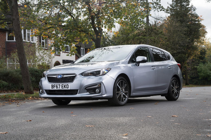 3 star Subaru Impreza