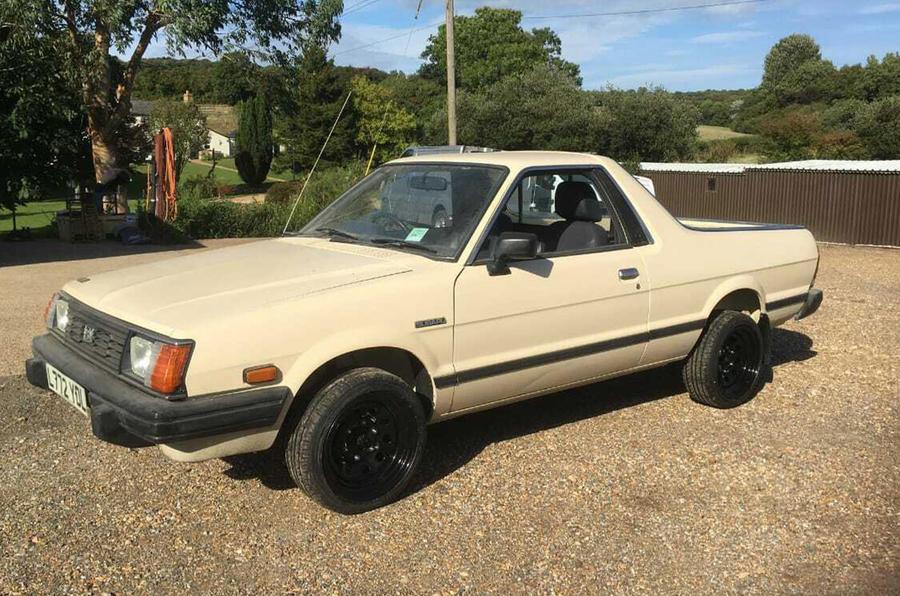 Subaru Brat - front