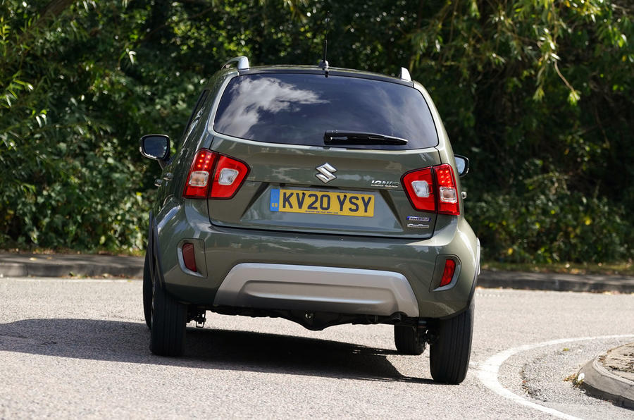 Suzuki Ignis hybrid 2020 UK first drive review - hero rear