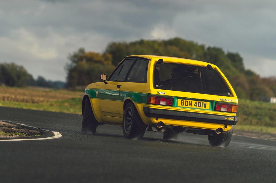 3 Tolman Talbot Sunbeam Lotus 2021 premier héros de l'examen de conduite arrière