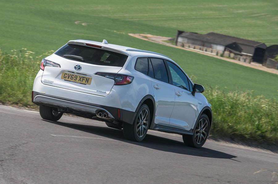 Toyota Corolla Trek 2020 UK first drive review - hero rear