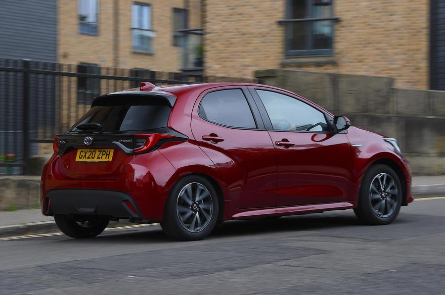 Autocar writers car of 2020: Toyota Yaris - rear