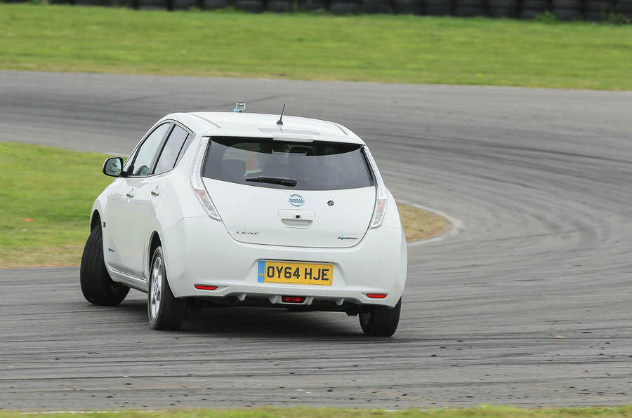 Nissan Leaf slide