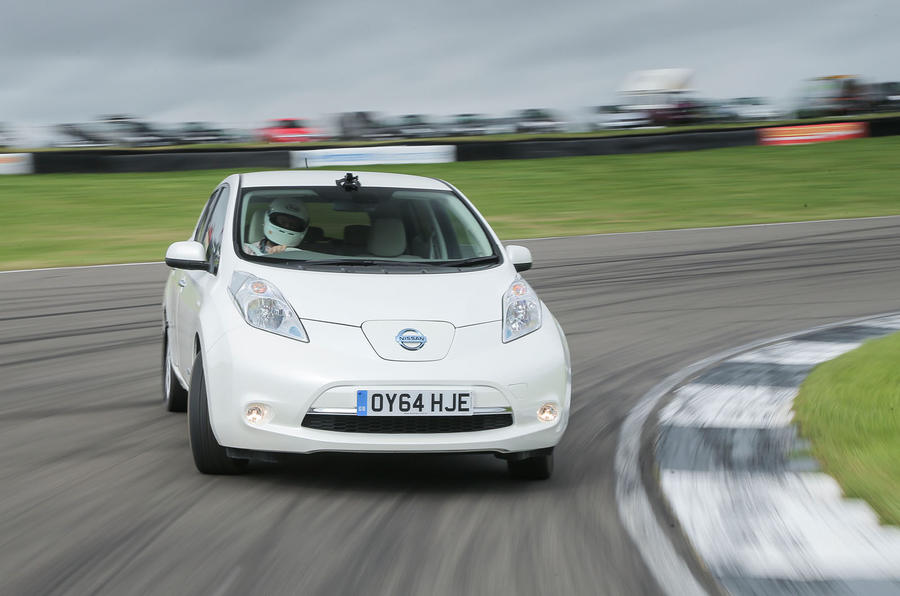 Drift a Nissan Leaf