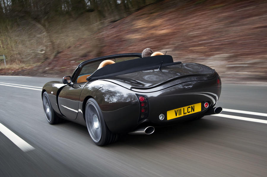 TVR Tuscan Vulcan - tracking rear