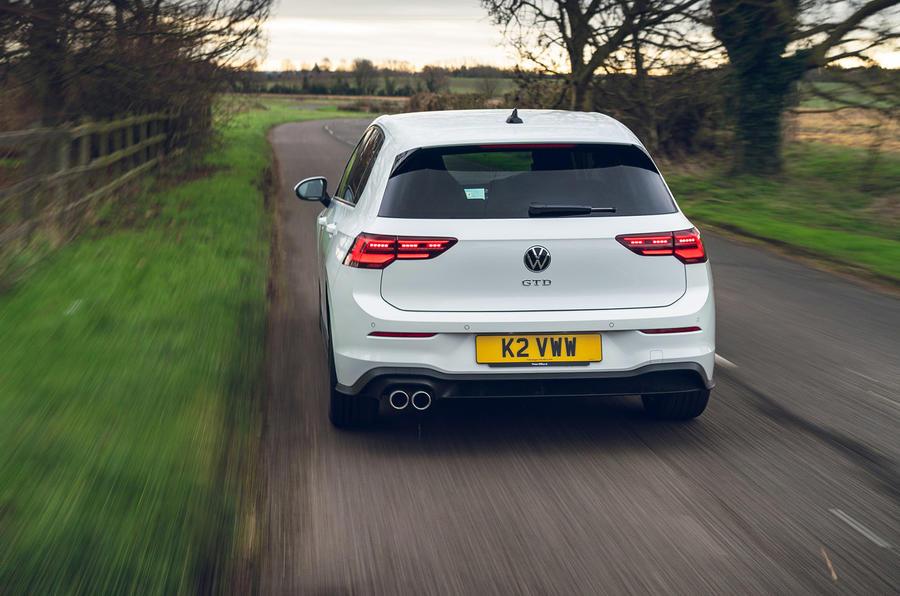 3 Volkswagen Golf GTD 2021 : le premier héros de l'examen de conduite au Royaume-Uni