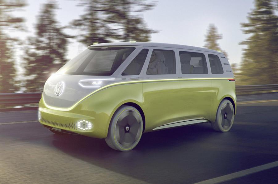 Volkswagen ID Buzz sketch 2022 - hero front