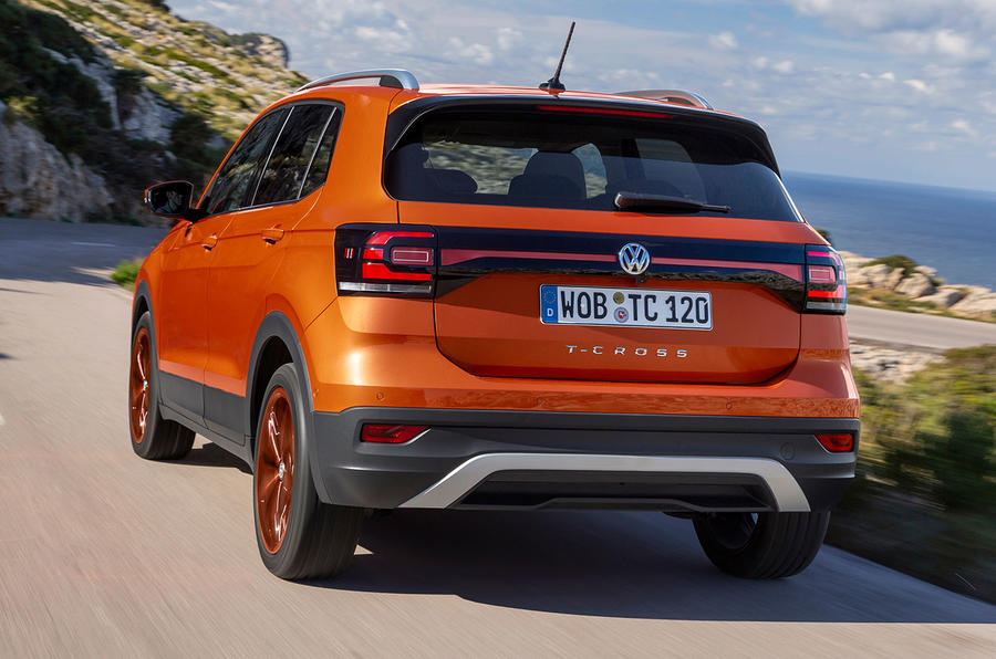 Volkswagen T-Cross 2019 first drive review - hero rear