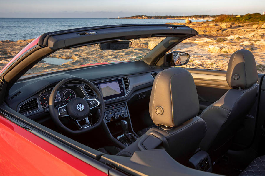 Volkswagen T-Roc Cabriolet 2020 first drive review - roof down