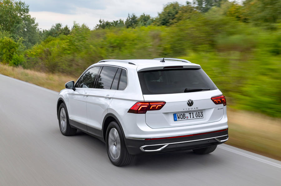 Volkswagen Tiguan eHybrid 2020 first drive review - hero rear