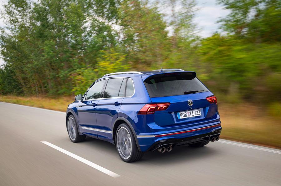 Volkswagen Tiguan R 2020 : premier bilan de conduite - héros à l'arrière