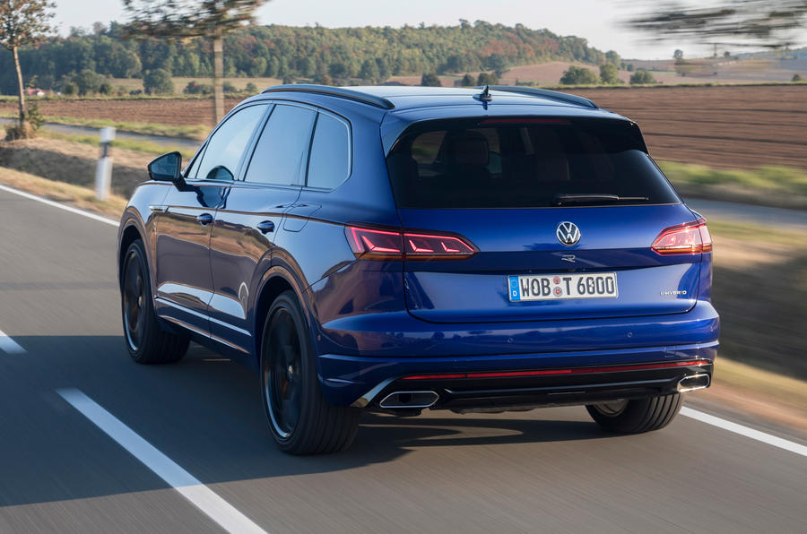 Volkswagen Touareg R 2020 first drive review - hero rear