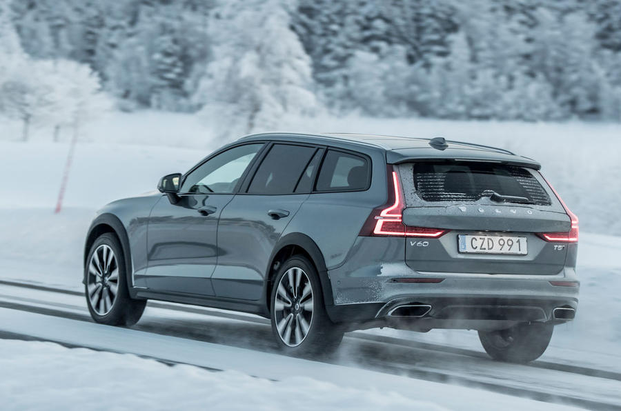 Volvo V60 Cross Country 2019 first drive review - hero rear