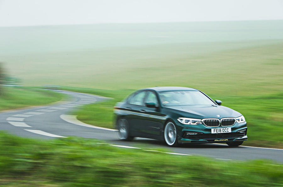 Alpina B5 BiTurbo saloon speed