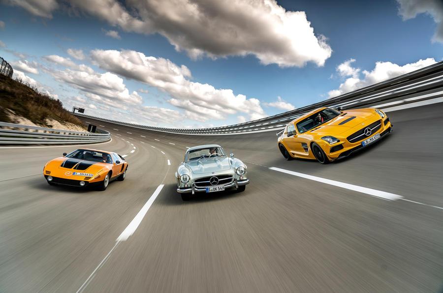 Mercedes SLS Black Series - front