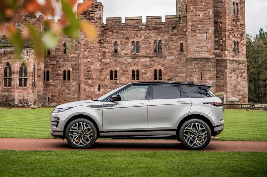 Range Rover Evoque - static side