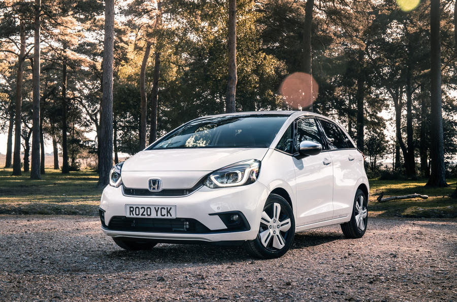 2020 Honda Jazz review - static front
